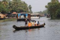 Local Kerala ferry