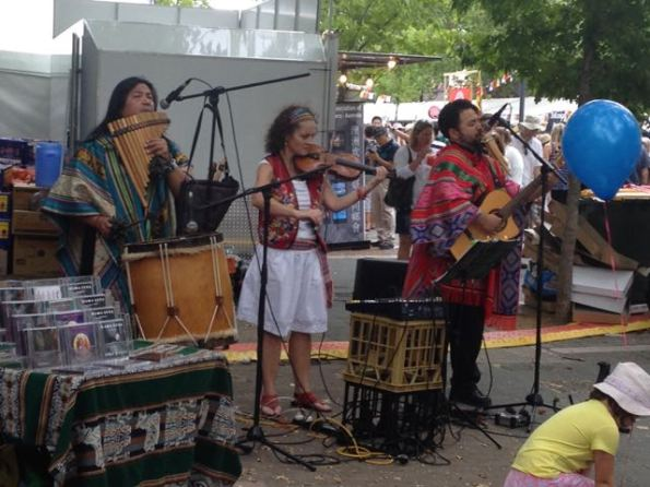 Peruvian musicians—Inkamarka