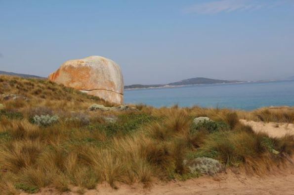 Castle Rock on Flinders Island