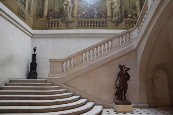 Museum Carnavalet, grand staircase
