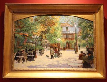 Le chalet du chateau by Abel Truchet