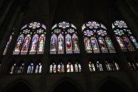 Glazed triforium, Saint-Denis