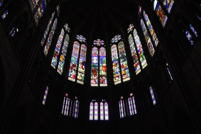 The clerestory windows, Saint-Denis