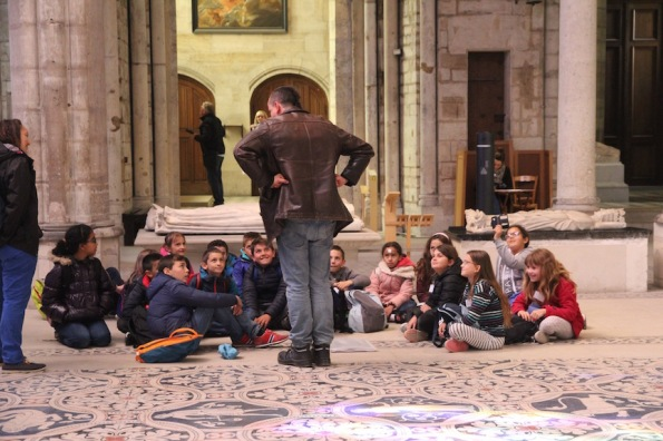 Teacher at Saint-Denis