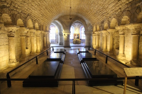 Crypt, Saint-Denis