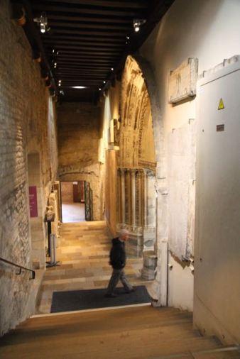 Entering Frigidarium, Musée Cluny