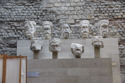 Heads of kings, Musée Cluny