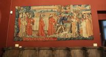 St Etienne tapestry and choir stalls, Musée Cluny