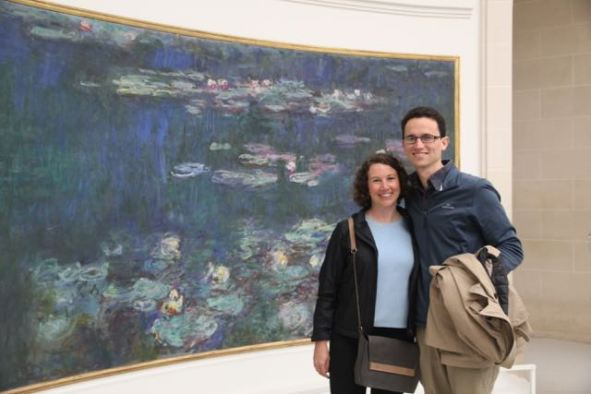 Libby and Daniel at Monet