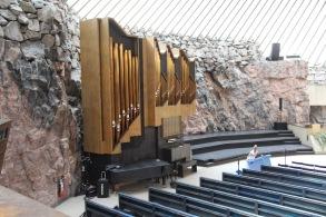 Rock Church, Helsinki, organ