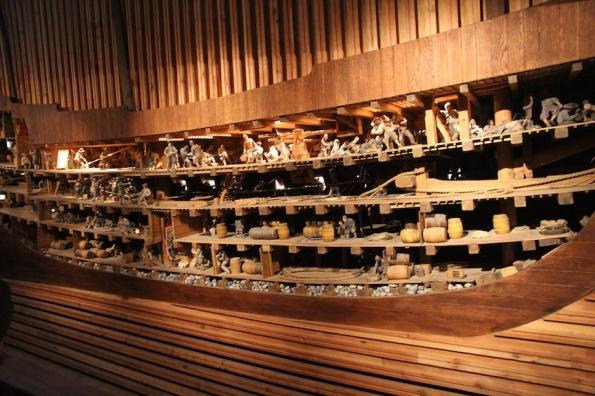 Cross-section of Vasa