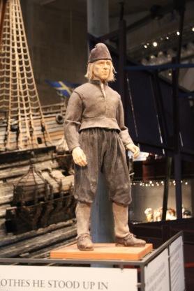 Typical crew of Vasa