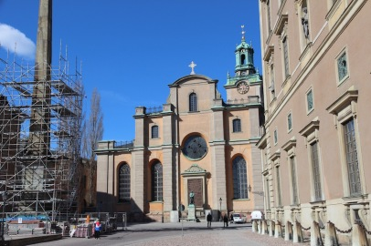 Stockholm Cathedral, exterior