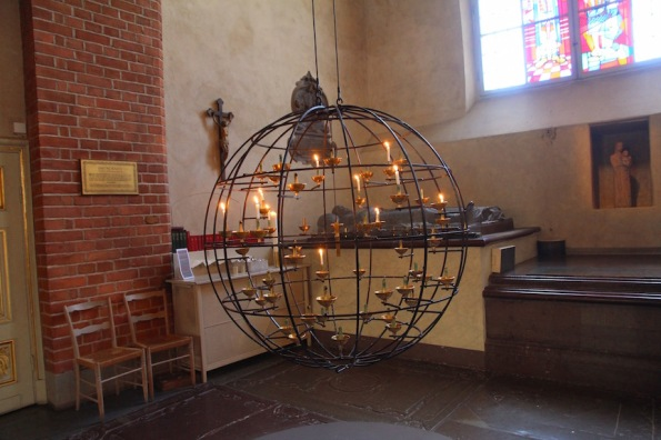 Stockholm Cathedral, candle globe