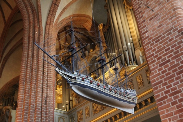 Stockholm Cathedral, sailing ship