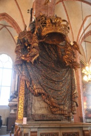Stockholm Cathedral, Royal Pews