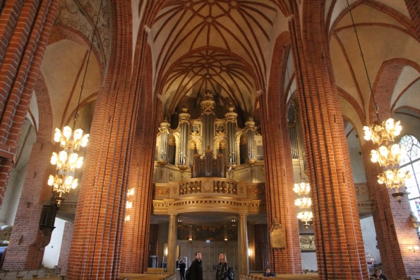 Stockholm Cathedral, organ