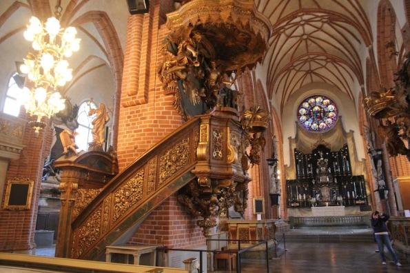 Stockholm Cathedral, pulpit