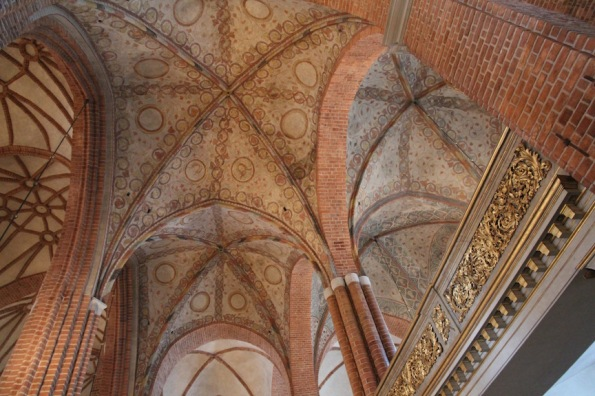 Stockholm Cathedral, ceiling