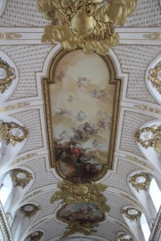 Stockholm Royal Palace, chapel ceiling