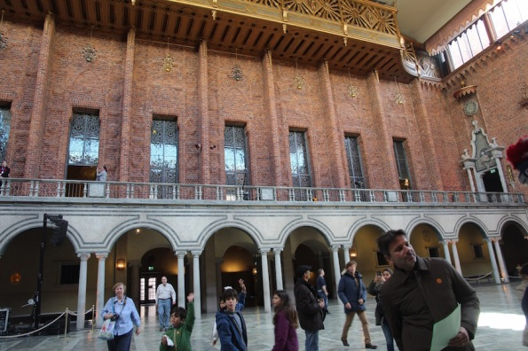 Stockholm City Hall, inner courtyard