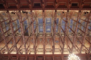 Stockholm City Hall, Assembly chamber, ceiling