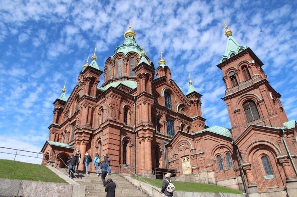 Helsinki's Eastern Orthodox Cathedral