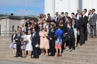 Wedding party, Helsinki