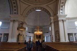 Helsinki Cathedral altar