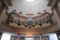 Helsinki Cathedral organ pipes