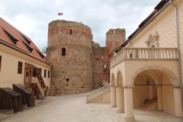 Baukas Castle courtyard