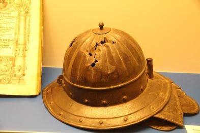 Baukas Castle, helmet