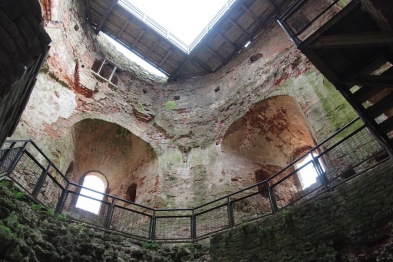 Baukas Castle, inside watch tower