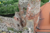 Baukas Castle, a view from watch tower