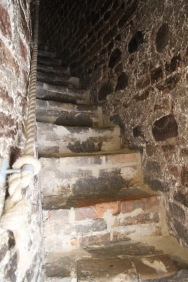 Stone stairs, Vilnius bell tower