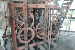 Clock mechanism, Vilnius Bell Tower