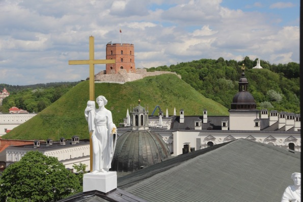 View from Vilnius Bell Tower