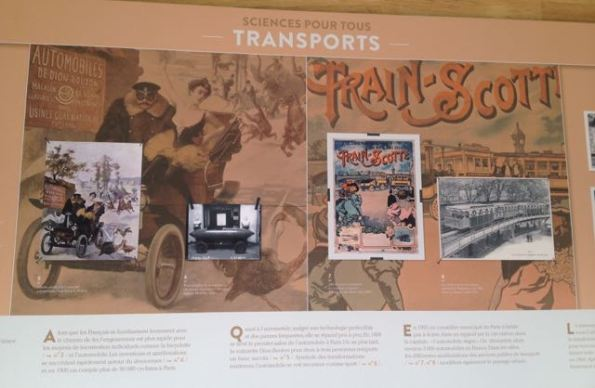 Transport display