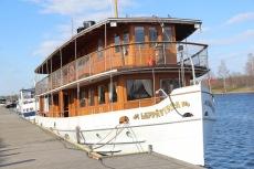 Boat on Lake Saimaa
