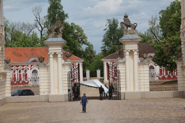 Rundāle Palace, entry gate