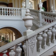 Rundāle Palace, staircase