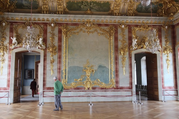 Rundāle Palace, Throne Room (Gold Hall)