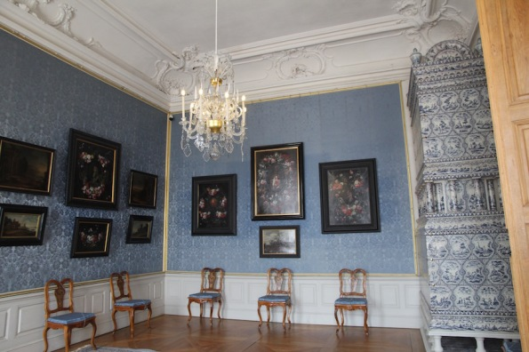 Rundāle Palace, room in blue