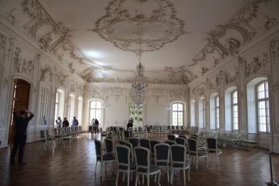 Rundāle Palace, White Hall (ballroom)