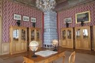 Rundāle Palace, library