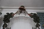Rundāle Palace, Duchess' boudoir detail