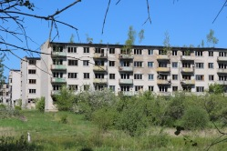 Skrunda-1, Latvia, old flats