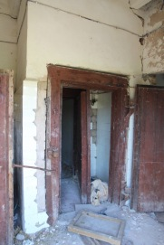 Skrunda-1, Latvia, prison shower