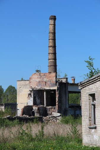 Skrunda-1, Latvia, chimney