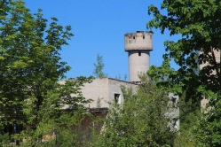 Skrunda-1, Latvia, water tower